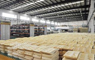 Foam storage