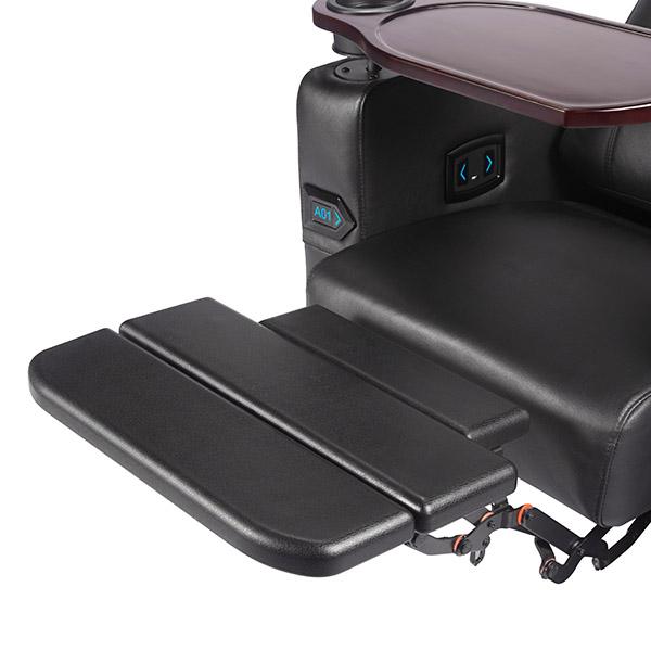 Foldable PU footrest