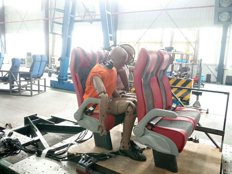 passenger seat impact testing
