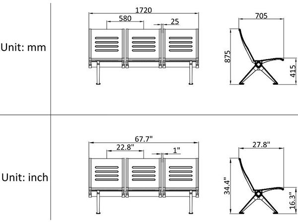 leacom seating 530