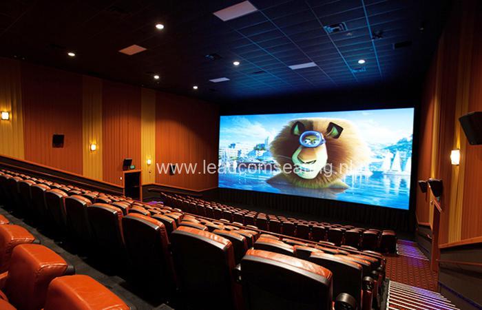 leadcom cinema seating installatio Epic Cinema 1