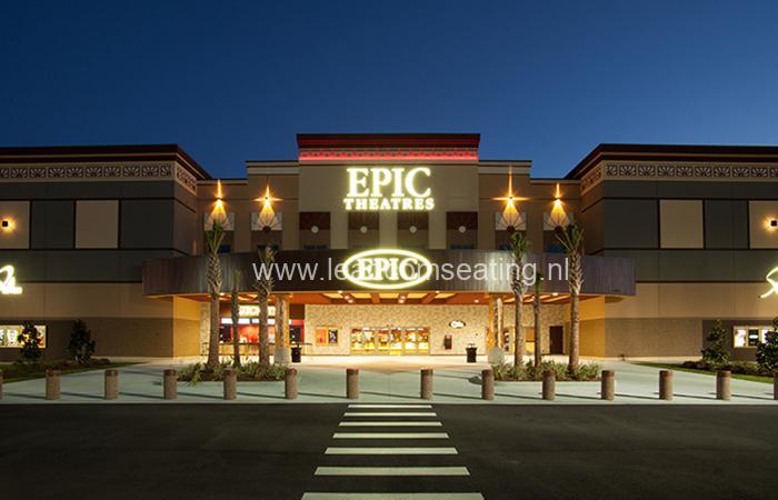 leadcom cinema seating installatio Epic Cinema 2