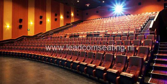 leadcom cinema seating installatio Epic Cinema