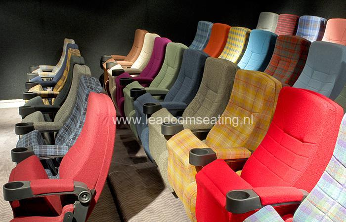 leadcom cinema seating installation BLYTHSWOOD CINEMA 1