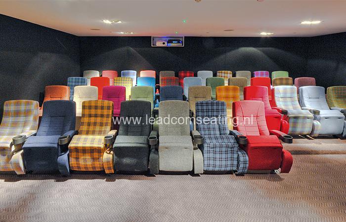 leadcom cinema seating installation BLYTHSWOOD CINEMA