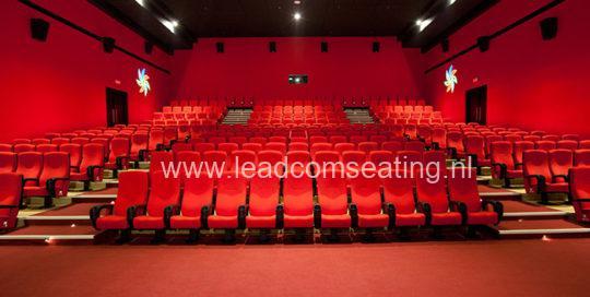 leadcom cinema seating installation CARNIVAL CINEMAS CORP 1
