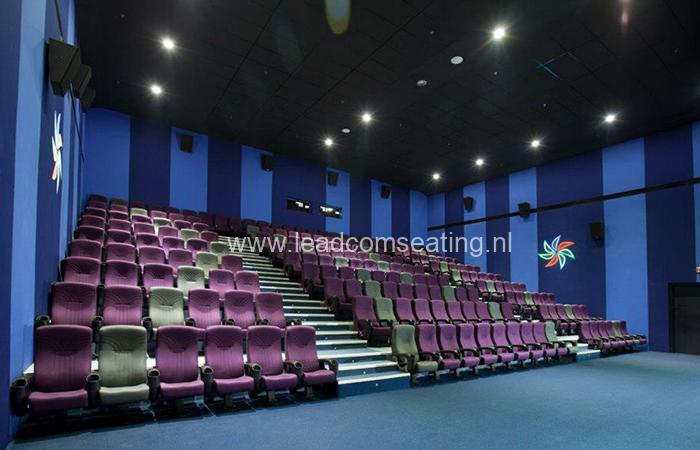 leadcom cinema seating installation CARNIVAL CINEMAS CORP