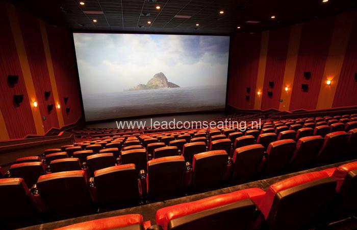 leadcom cinema seating installation Epic Cinema 3