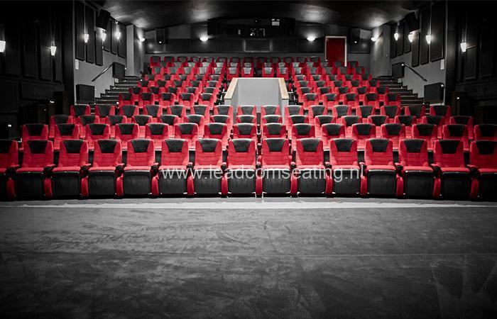 leadcom cinema seating installation Kom-bi project Danmark 2