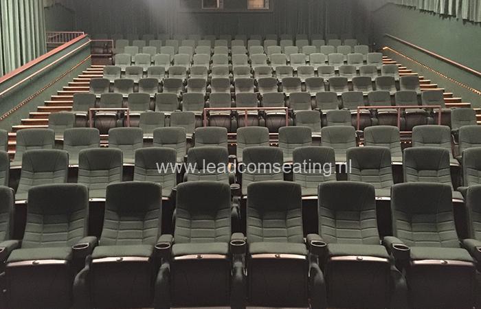 leadcom cinema seating installation Malco Theatres, TN, USA