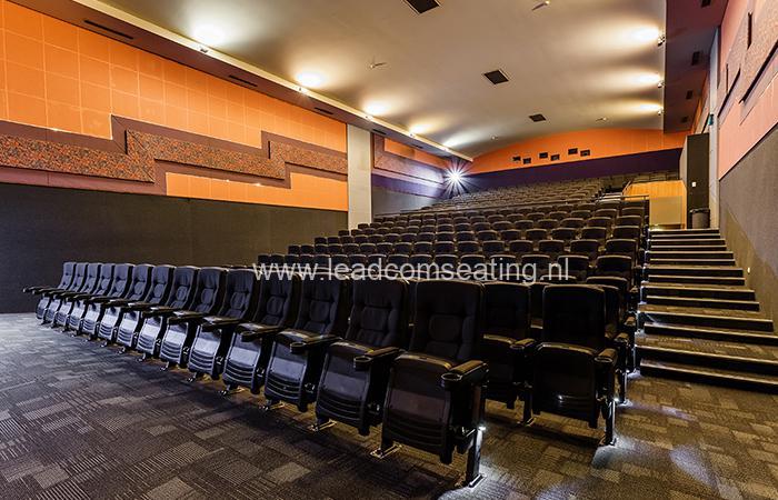 leadcom cinema seating installation Paradiso cinema