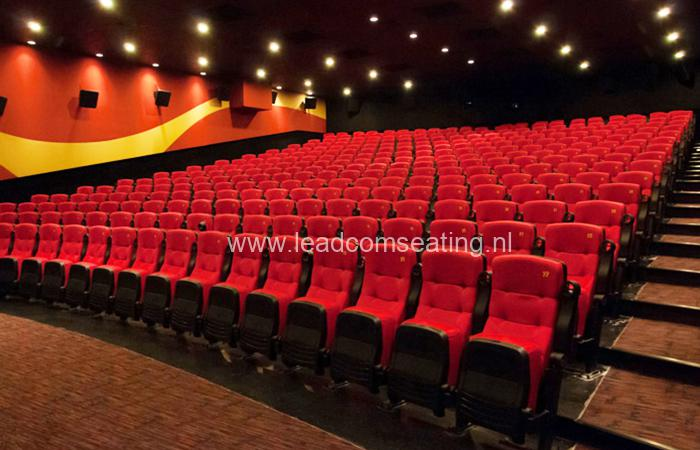 leadcom cinema seating installation Platinum Cineplex 1