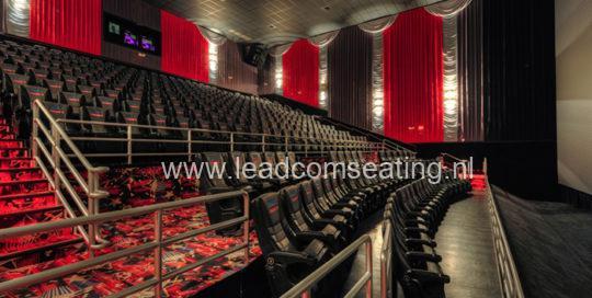 leadcom cinema seating installation Premier Cinema