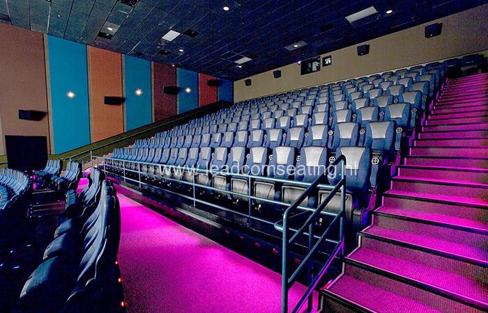 leadcom cinema seating installation Premiere cinemas