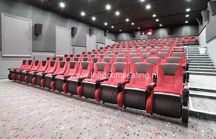 leadcom cinema seating installation Ringkbing CINEMA 1