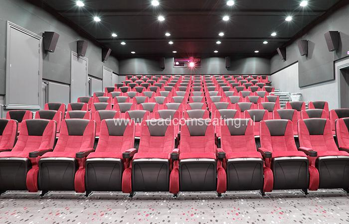 leadcom cinema seating installation Ringkbing CINEMA 2