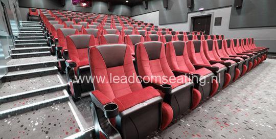 leadcom cinema seating installation Ringkbing CINEMA