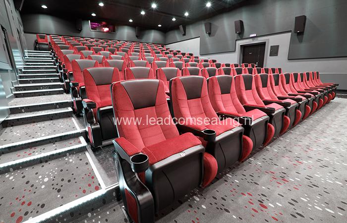 leadcom cinema seating installation Ringkbing CINEMA
