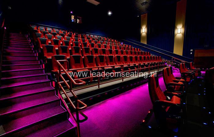 leadcom cinema seating installation ST.AUGUSTINE