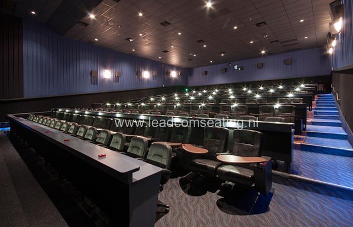leadcom cinema seating installation STUDIO MOVIE GRILL 2