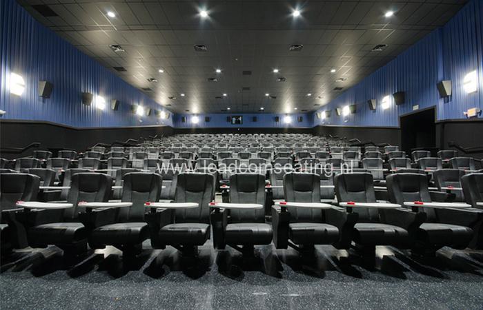 leadcom cinema seating installation STUDIO MOVIE GRILL 4