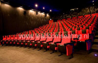 leadcom cinema seating installation Scale Cinema
