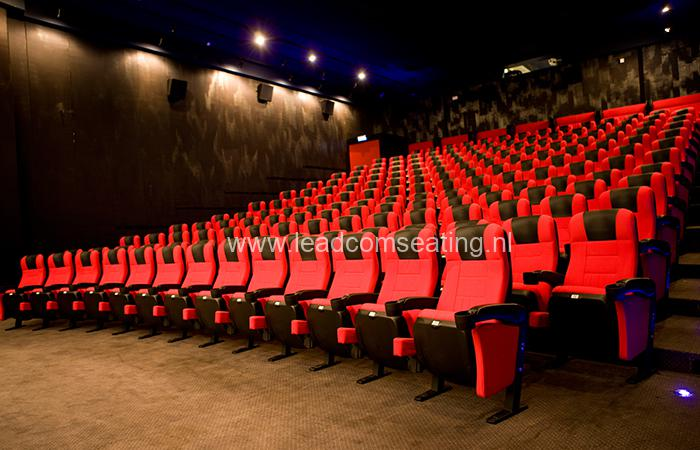 leadcom cinema seating installation Scale Cinema