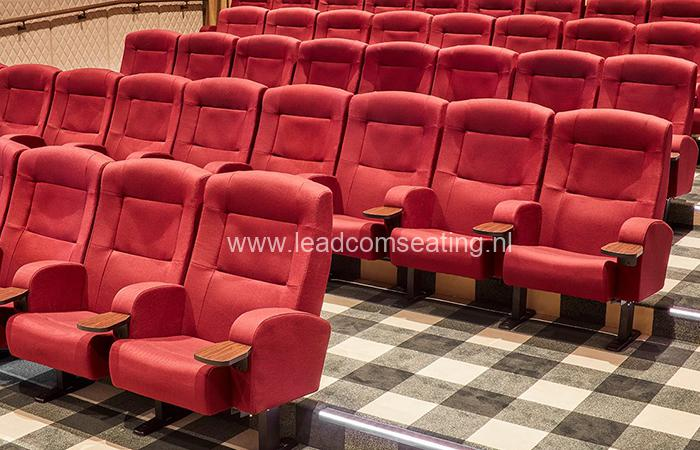 leadcom cinema seating installation The Russley Village Cinema 3