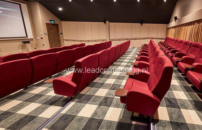 leadcom cinema seating installation The Russley Village Cinema 4