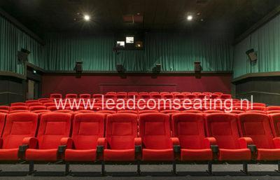 leadcom cinema seating installation Top town cinemas 1