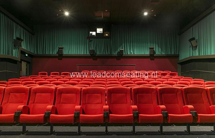 leadcom cinema seating installation Top town cinemas 1