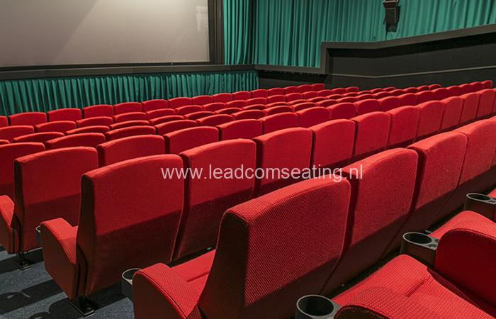 leadcom cinema seating installation Top town cinemas 2