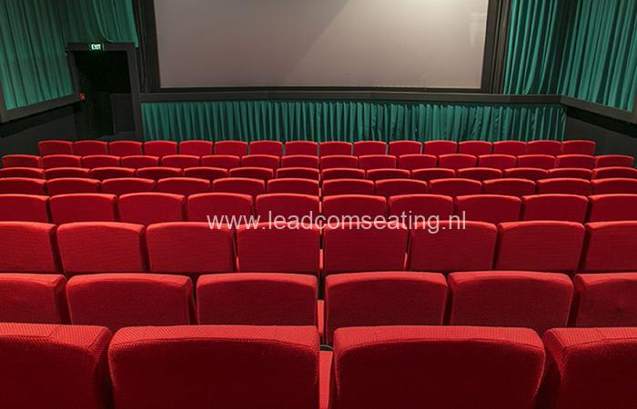 leadcom cinema seating installation Top town cinemas 3