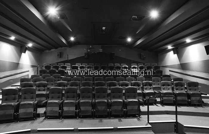 leadcom cinema seating installation WHAKAMAX CINEMAS 1