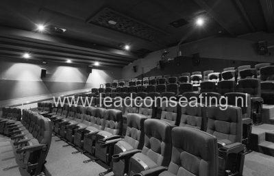leadcom cinema seating installation WHAKAMAX CINEMAS