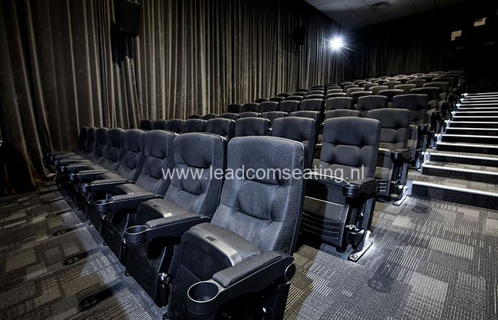 leadcom cinema seating installation Windsor Cinema