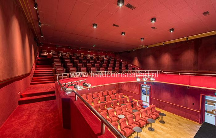 leadcom cinema seating installation Youcinema Switzerland 1