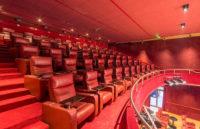 leadcom cinema seating installation Youcinema Switzerland