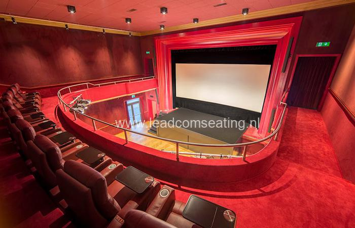 leadcom cinema seating installation Youcinema Switzerland 3