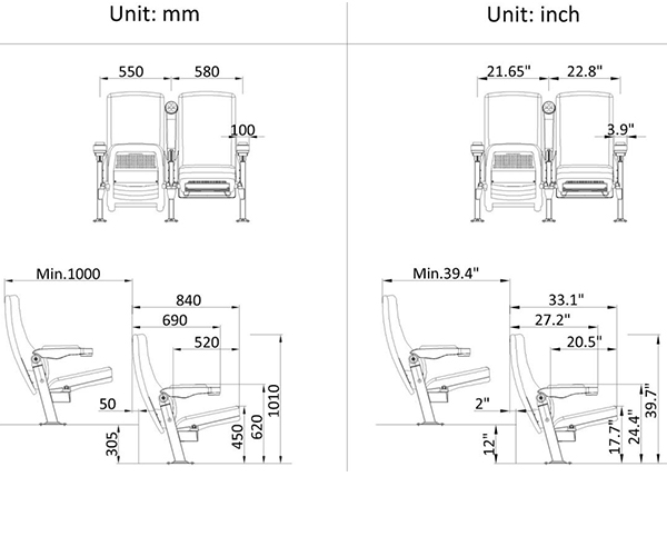 leadcom seating 11602n