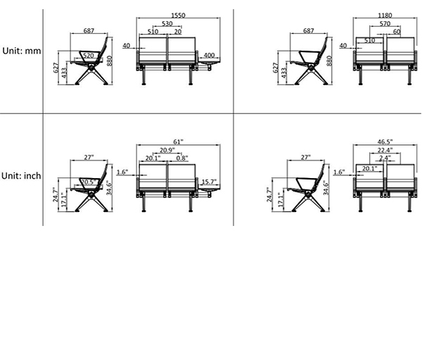 leadcom seating 529yf