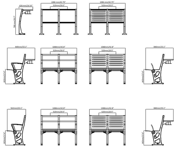 leadcom seating 909