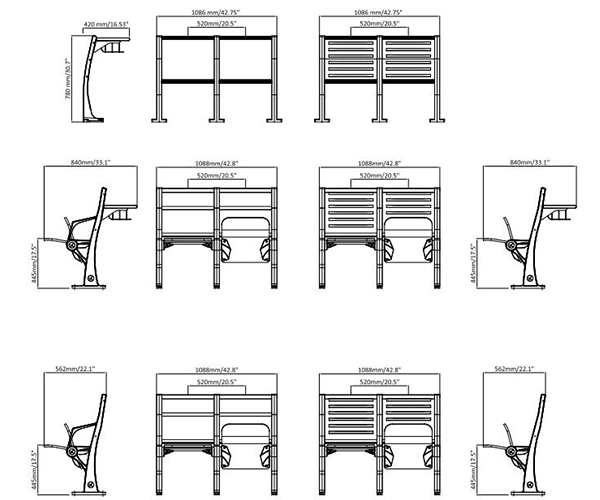 leadcom seating 921