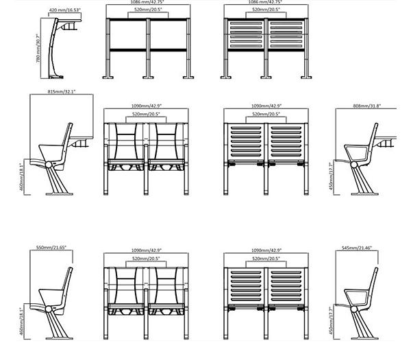 leadcom seating 928