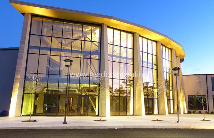 leadcom seating auditorium seating Cape cod church 1