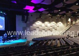 leadcom seating auditorium seating Cape cod church