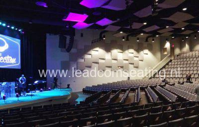 leadcom seating auditorium seating Cape cod church