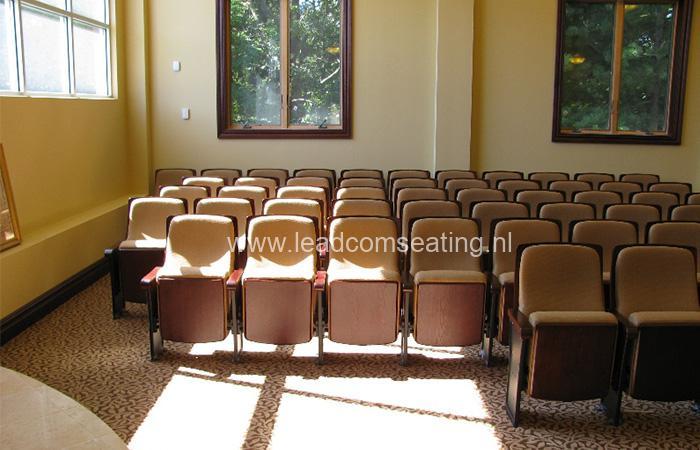 leadcom seating auditorium seating installation 1