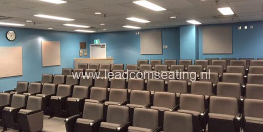 leadcom seating auditorium seating installation Canada VGH