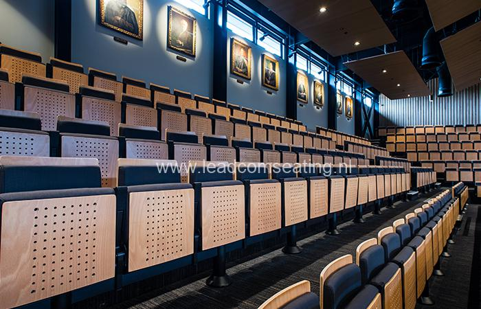 leadcom seating auditorium seating installation Christchurch Boys High School 1